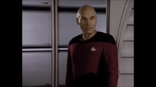 Star Trek TNG (Peak Performance) Picard Quote - It is possible to commit no mistakes and still lose.