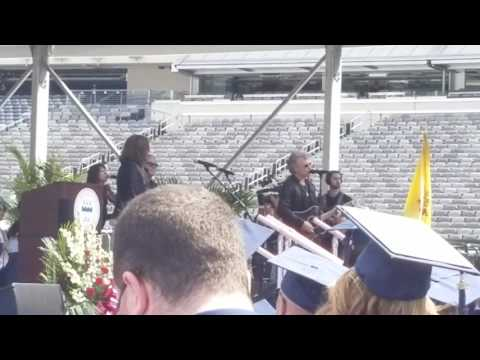 Bon Jovi crashes FDU commencement with new song
