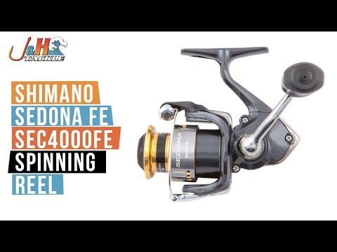 Shimano Sedona FE SE4000FE Spinning Reel | J&H Tackle - YouTube