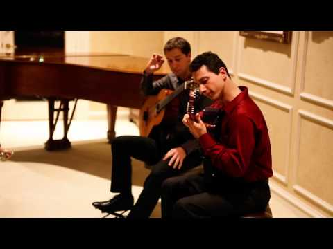 Flight of the Bumblebee performed by Grisha Goryachev and Jerome Mouffe