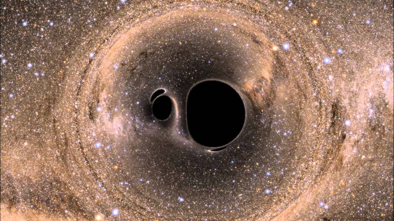 the colliding of black holes essay Like the gravitational waves left behind by merging black holes, detectable ripples in space-time could come from colliding wormholes.