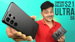 Samsung Galaxy S21 Ultra 5G Unboxing 🔥🔥🔥 சிறப்பான தரமான Flagship