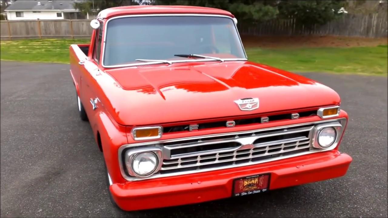1965 Ford F100 EFI 5 0 AOD