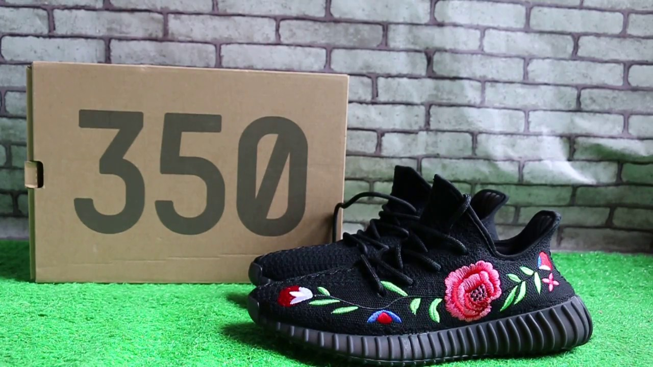 7cf3a25f0e1 Yeezy 350 Boost V2 Black X Gucci HD review - YouTube