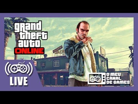 [Live] GTA V ONLINE (PS4) - LEVANTANDO DINHEIRO DIGNO!!!