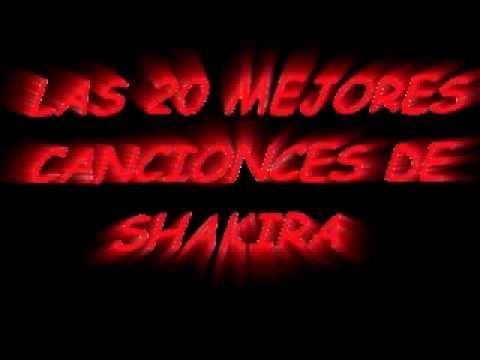video de las canciones de shakira: