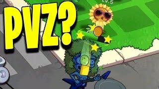 Merge Flowers vs Zombies Gameplay - Nowe roślinki kontra Zombie?