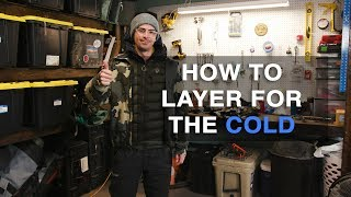 How to layer for cold weather (WISH I knew this!)