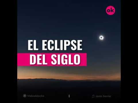 Eclipse del siglo este 21 de agosto a las 2:30 p.m. del 2020