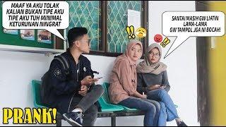 Telponan Sombong Disamping Orang Part 3! Sultan Kw Nolak Cewe Cantik! Prank Indo