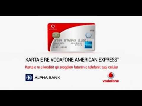 Alpha Bank Albania Karta Krediti Vodafone American Express Youtube