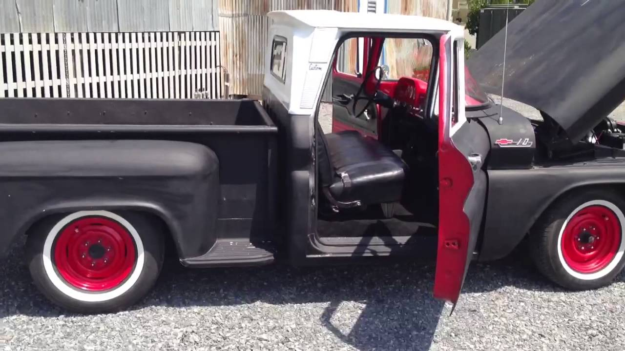 All Chevy 1963 chevy stepside for sale : 1962 Chevy c10 step side rat rod - YouTube
