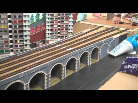 August update on Amberton 00 gauge model railway