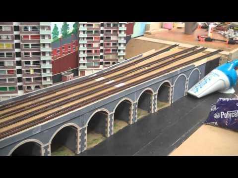 August update on Amberton 00 gauge model railway