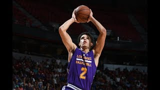 Lonzo Ball On FIRE! Records 2nd Triple-Double (16p, 10r, 12a) of Summer League (Full Highlights)