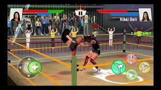 Bad Girls Wrestling 2019 :  Hell Ring Women Fighting / Android Game / Game Rock