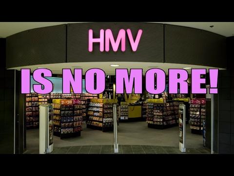 HMV to Close ALL STORES in Canada