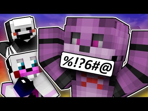 Minecraft Fnaf: Sister Location - BonBon Say A Bad Word (Minecraft Roleplay)