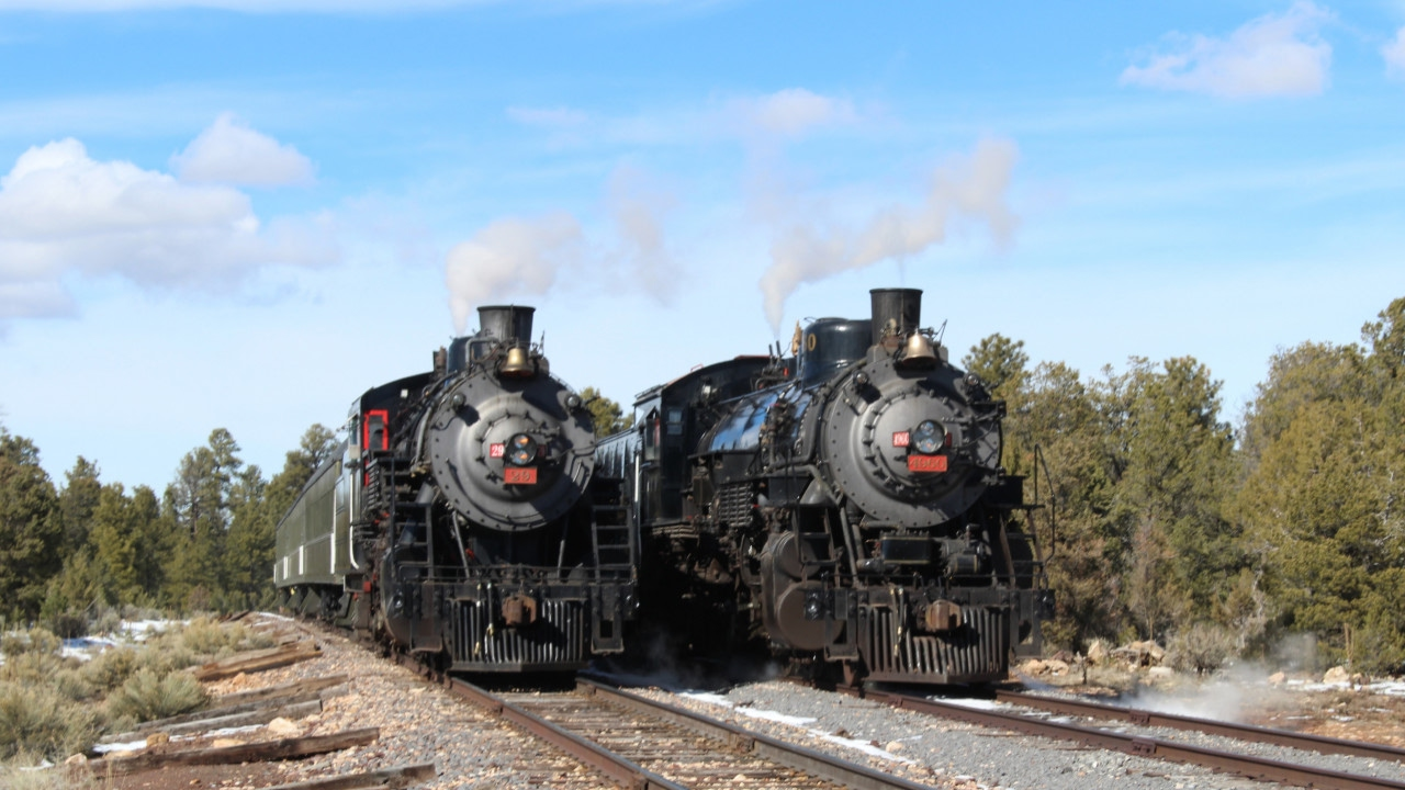 Grand Canyon Railway >> The Citadel Of Steam Grand Canyon Railway Photo Charter 2017 Youtube