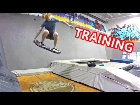 Pre Season Snowboard Training - Skateboarding & Trampoline