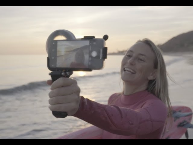 Outex Phone Waterhousing.  The Camera that's always with you.