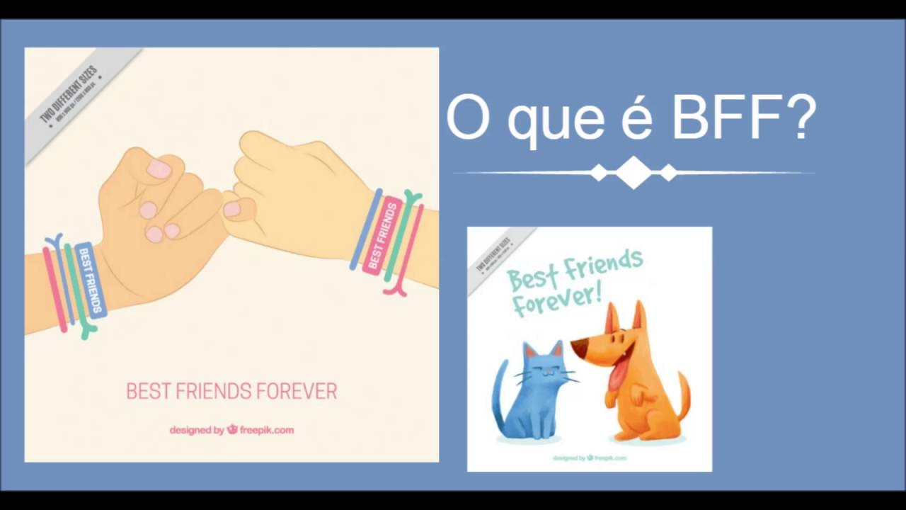 O que significa BFF  YouTube