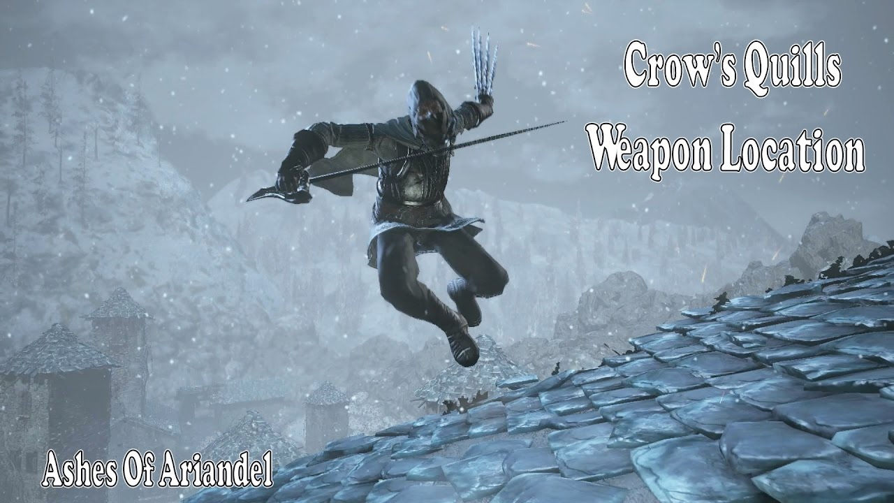 Dark souls crow quills weapon location moveset
