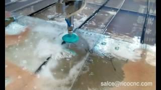 CNC Water Jet Cutter Machine Waterjet for Glass Cutting Mp3