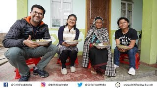 WEIOLOI (Meghalaya) Village Food Tour-Traditional Khasi Food: Cooking and Eating with a local family
