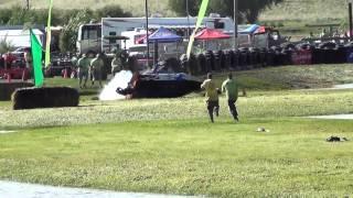 Dennis Hughes Sprint Boat Crash at Webb's Slough 6-17-2012
