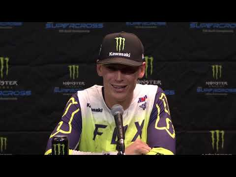 450SX Post Race Press Conference - Anaheim - Race Day LIVE 2020