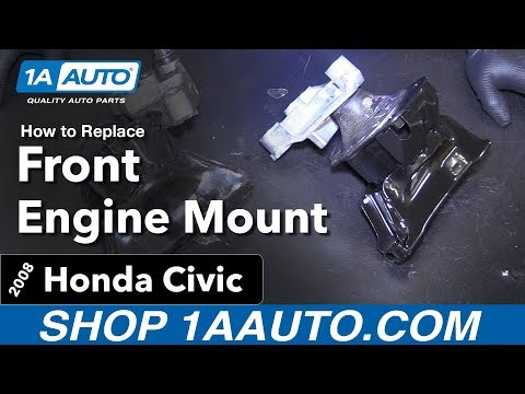 How to Replace Front Engine Mount 06-11 Honda Civic