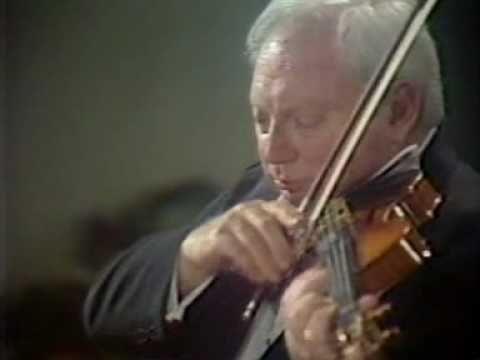 Isaac Stern & Jean-Bernard Pommier - César Franck  Violin Sonata in A major - 3rd mvt.