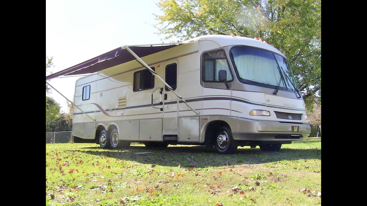 1997 Holiday Rambler Vacationer class A gas motorhome walk ...