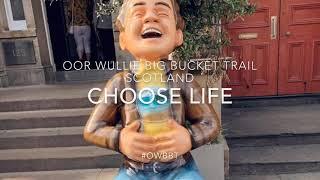 Oor Wullie Big Bucket Trail 2019 - Choose Life/Rent Boy