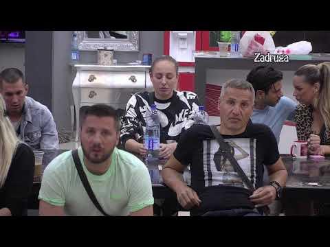 Zadruga 3 - Miljković Nasrće Na Anabelu, Ponovo Demonstrira Silu - 09.04.2020.
