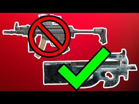 WHY THE P90 IS BETTER THAN THE MP5!! - Rainbow Six Siege