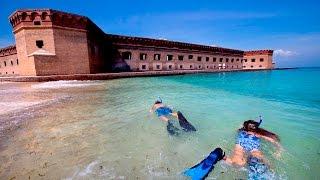 Dry Tortugas: Seaplane to Snorkeling
