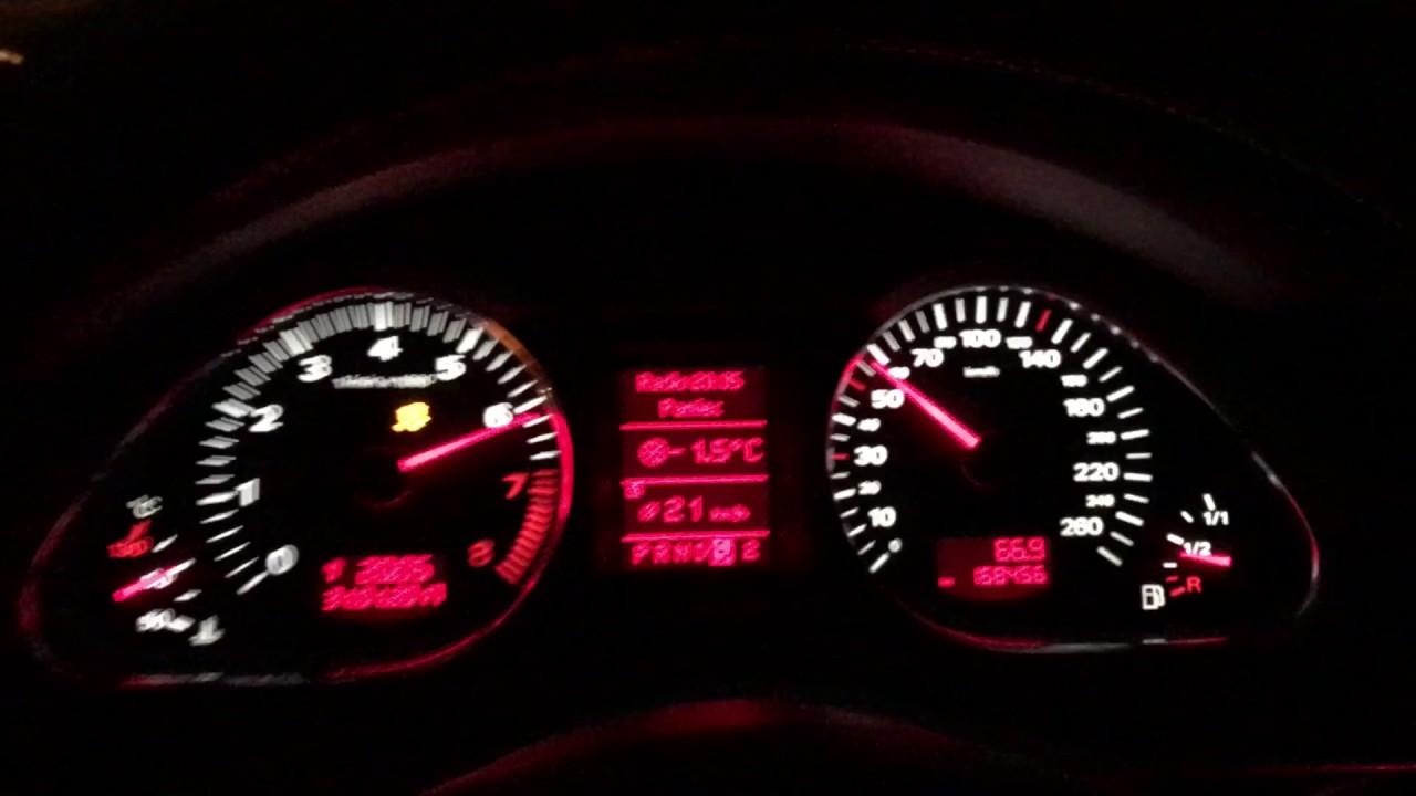 Audi A6 C6 4 2 V8 335km - 0-100km/h | ESP OFF