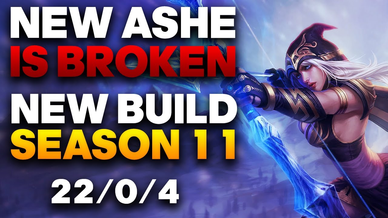 Ashe Build Guide Vapora Dark In Depth Adc Ashe Guide Season 11 League Of Legends Strategy Builds