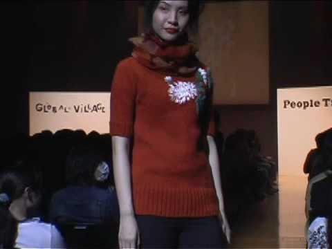 PEOPLE TREE - AW09 Fashion Show