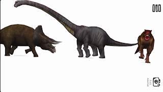 3D animasyonlu dinozor dünya | Karikatür AC - Zorbalar Dinozorlar