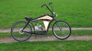Board tracker (велосипед с мотором) часть 3(Всем привет! Продолжаем