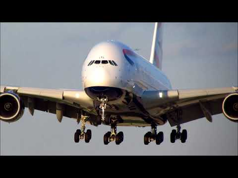 British Airways Airbus A380 Inaugural Service to Chicago - O