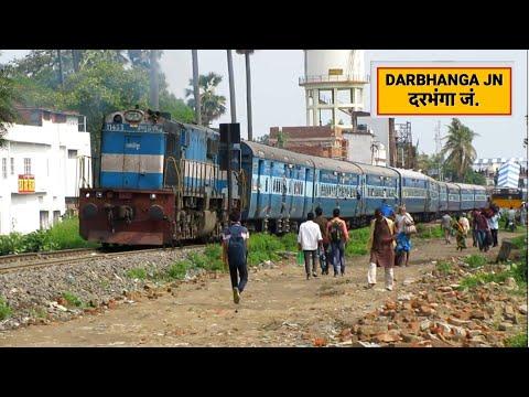 Bihar Sampark Kranti Express Departing From Darbhanga