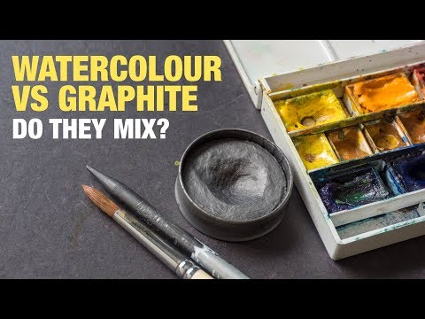 Watercolour vs Graphite: Do They Mix or Work Well Together?