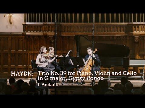"Haydn Trio No. 39 ""Gypsy Rondo,"" Mvt I - ChamberFest Cleveland (2014)"