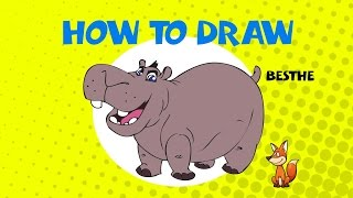 How to draw Beshte from Lion Guard - Learn to Draw - ART LESSONS