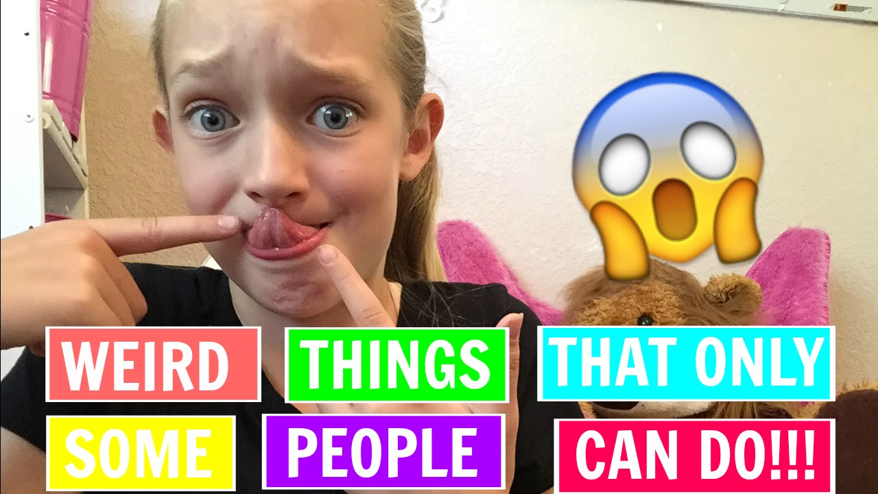 Weird Things That Only Some People Can Do