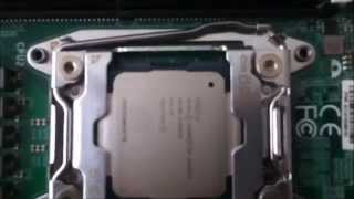 installation processor inintel xeon e5 2630 v3 to mbd x10drfr b whit dual socket r3 lga 2011